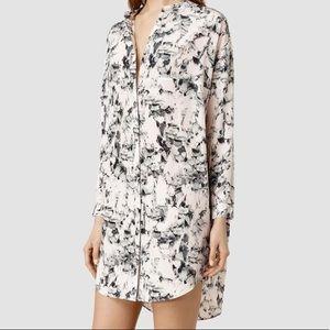 AllSaints Helle Dazzle Dress in size 4